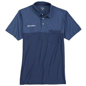 Subaru Logo Men's Colorblock Polo Official WRX Sti Ascnet Forester Outback