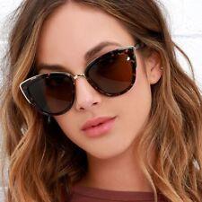 Retro Cat Eye Leopard Sunglasses Female Luxury Brand for Women UV400 Gradient