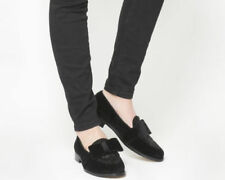 Women's Velvet Upper Loafers