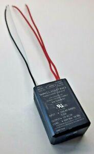 WAC Lighting EN-1260N-R2 Electronic Transformer, 120V - 12V, 60W