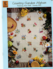 Cross Stitch: Country Garden Afghan *