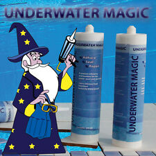 swimming pool adhesive and sealant, color: white 3 x 290 ml