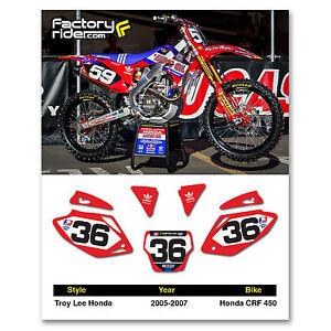 Bobotron Copertura per telaio moto Dirt Bike CRF250R CRF450R 2013-2016