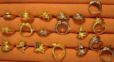 144 Vintage Gold/Palladium Finish Unisex Dolphin/Porpoise Rings at $1 ~ 1980's ~
