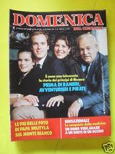 DOMENICA DEL CORRIERE ANNO 88 N. 38 20 SETTEMBRE 1986