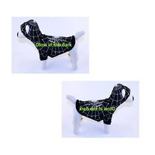 High Quality Dog Costume SPIDERDOG BLACK COSTUMES Glow in the Dark Dogs Outfit