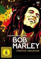 BOB MARLEY - POSITIVE VIBRATIONS  DVD NEU