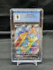 Pokemon Champions Path - Drednaw V Full Art 69/73 - CGC Graded 9.0 Mint