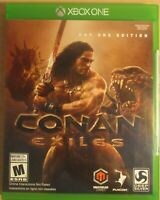 NEW Conan Exiles: Day One Edition Microsoft Xbox One 2018 Sealed rated mature
