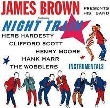 JAMES BROWN Night Train NEW & SEALED 60s SOUL R&B CD (HALLMARK) INSTRUMENTALS