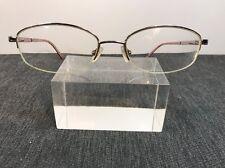 Coach Authentic FAYE 118 Light Tort 55/18 140 Rimless Flex Hinge Eyeglasses #02