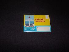 1970's Souvenir Postcard Folder Calgary Alberta Canada