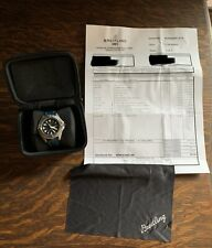 Breitling Colt Quartz A57035 Mens Watch - Just Had A $800 Service By Breitling