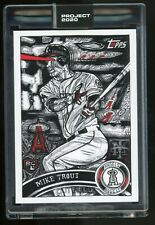 2020 Topps Project 2020 Mike Trout by JK5 #121 In Hand 4