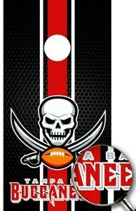 Cornhole Boards Wrap Tampa Bay Buccaneers NFL Decal Sticker Custom Vinyl AH81