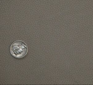 93 sf Gray HOLLY HUNT Cow Hide leather Upholstery Skin D5jo p