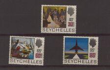 [ZZA-335]  -  Seychelles  - 1971  -  Ordinari sovrast.   -  **  MNH