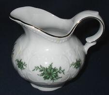 Seltmann Weiden, Milchkännchen 2, groß, Salzburg grüne Blume, Porzellan