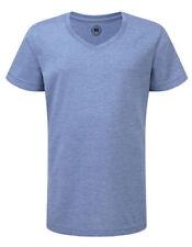 Camisetas y tops de niña de 2 a 16 años azul de poliéster
