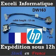 connecteur Dc power jack cable wire dw163 HP pavilion DV7-6138US DV7-6123CL