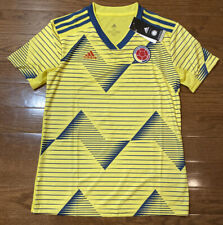 Adidas Women's Size Large Columbia 2019-20 Home Yellow Soccer Jersey DN6617