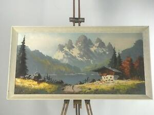 Original Signed Oil Painting on Canvas Landscape [5586]