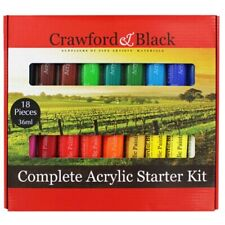 Complete Acrylic Starter Kit, Art & Craft, Brand New