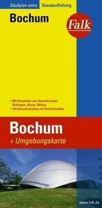 Falk Stadtplan Extra Standardfaltung Bochum 1 : 15 000   (Land-)Karte   Deutsch