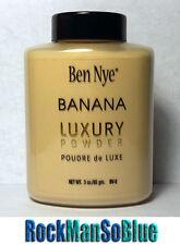 Ben Nye Banana Powder 3 oz Bottle Authentic Luxury Face Makeup Kim Kardashian