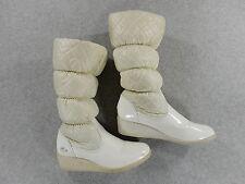Lacoste Lyette Vintage Winter Boots (Womens Size 6) White