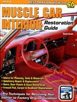 RESTORATION GUIDE INTERIOR MANUAL MUSCLE CAR STROHL BOOK