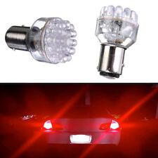2x 1157 BAY15D 24 LED RED 380 P21/ 5W 12V Car Tail Stop Brake Lights Bulbs Lamps