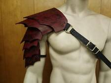 LEATHER ARMOR SENTINEL 2  SIX PC SHOULDER LARP COSPLAY