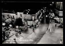 ZAFFERANA ETNEA angolo di piazza belvedere e via roma foto notturna