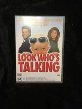 LOOK WHO'S TALKING DVD 2000 LIKE NEW-JOHN TRAVOLTA, KIRSTIE ALLEY, BRUCE WILLIS
