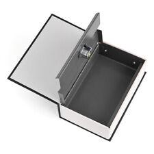 Dictionary Money Box Piggy Bank Lock-up Safe Box for Cash Jewelry Passport Black