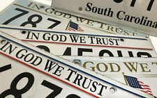 "(choice) South Carolina license plate - ""In God We Trust"" design"