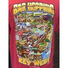 Key West tshirt, Gildan T-shirt, Bar Hopping, Key West, Duval Street, Sloppy Joe
