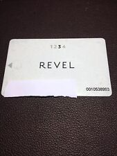 Revel Hotel Casino Early Design 3rd Tier Players Card 2012-14 Closed