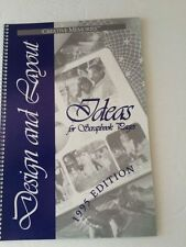 Creative Memories 1995 Design & Layout Ideas for Scrapbook pages multi-theme