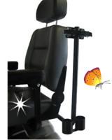 Unterarmgehstützenhalter Elektromobil abnehmbar Halter für UA-Stütze Scooter
