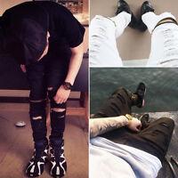 NEW Men's Straight Jeans Slim Casual Pants Denim JEAN Pants Skinny Trousers