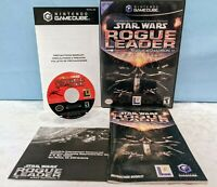 Star Wars: Rogue Leader - Rogue Squadron II (Nintendo GameCube, 2001) Complete