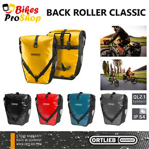ORTLIEB Back Roller CLASSIC (Pair) - Bike Bicycle Panniers Bags GERMANY 2021