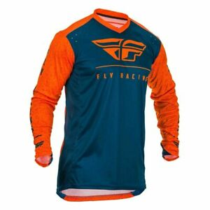 Motocross Jersey Shirt > Fly 2020 Lite MX Breathable - Orange/Navy