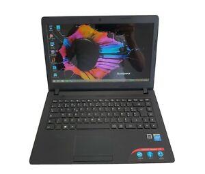 """Lenovo ideapad 100, 4Go, 250Go HDD, 14"""", propre et parfaitement fonctionnel."""