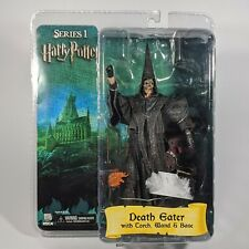 """NECA Harry Potter Skull-Mask Death Eater 7"""" Figure w/Torch Wand & Base - NEW"""
