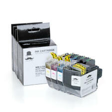 4PK LC3013 Ink Cartridge High Yield BK/C/M/Y With Chip For Brother MFC-J491DW