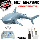 RC Remote Control  2.4G 4CH Simulation Shark Toys Swimming Pool Bath Tub