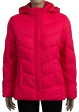 Ladies Womens Faded Glory Quilted Detachable Hood Jacket Plus Size Coat.UK16-24